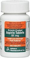 Enteric Coated Aspirin - 81 mg