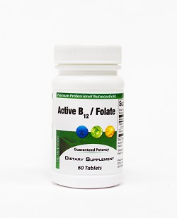 Active B12  (as methylcobalamin) 1000 mcg + Folate 800 mcg