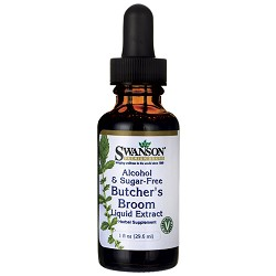 Butcher's Broom Liquid Extract - 1 oz - 29.6 ml