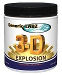 Generic Labz 3-D Explosion Fruit Punch 50 Servings